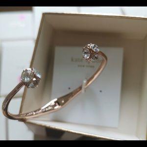 Kate Spade Lady Marmalade Crystal Hinge Bracelet